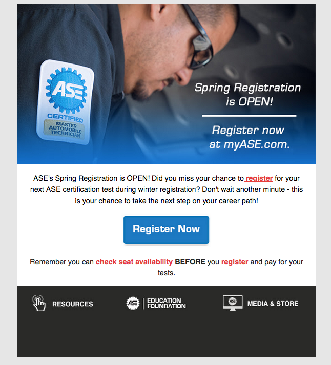 ASE Email Templates