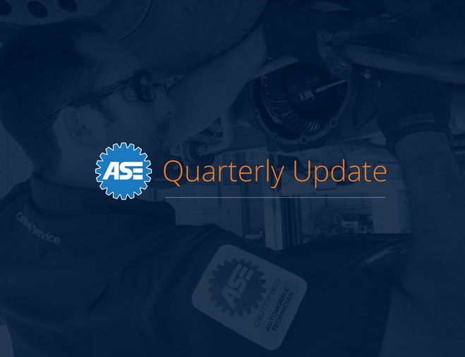 ASE Blue Seal News