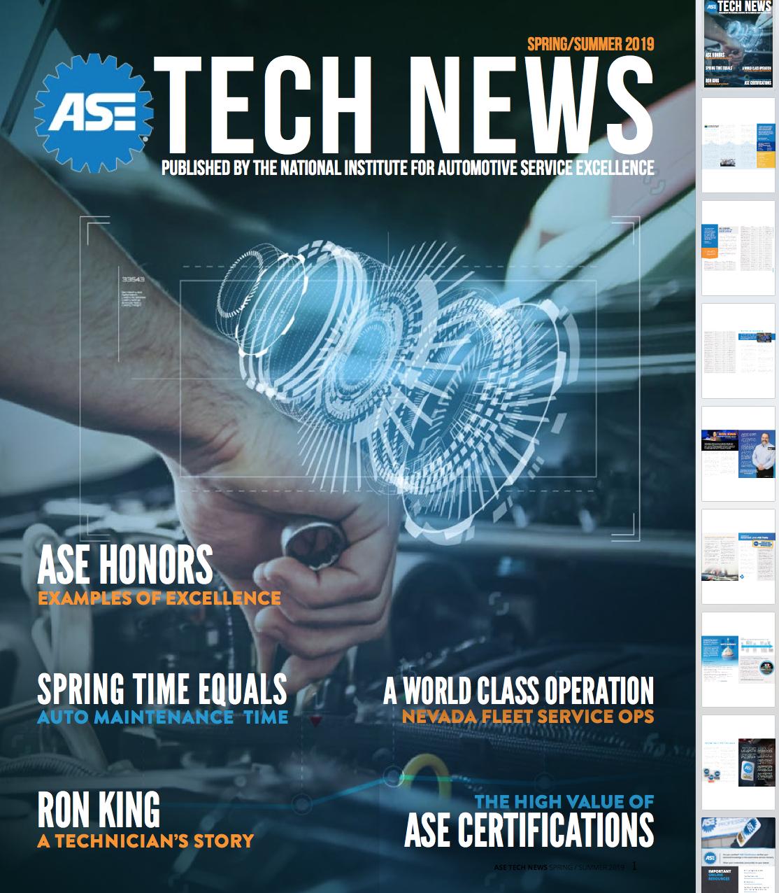 ASE Tech News